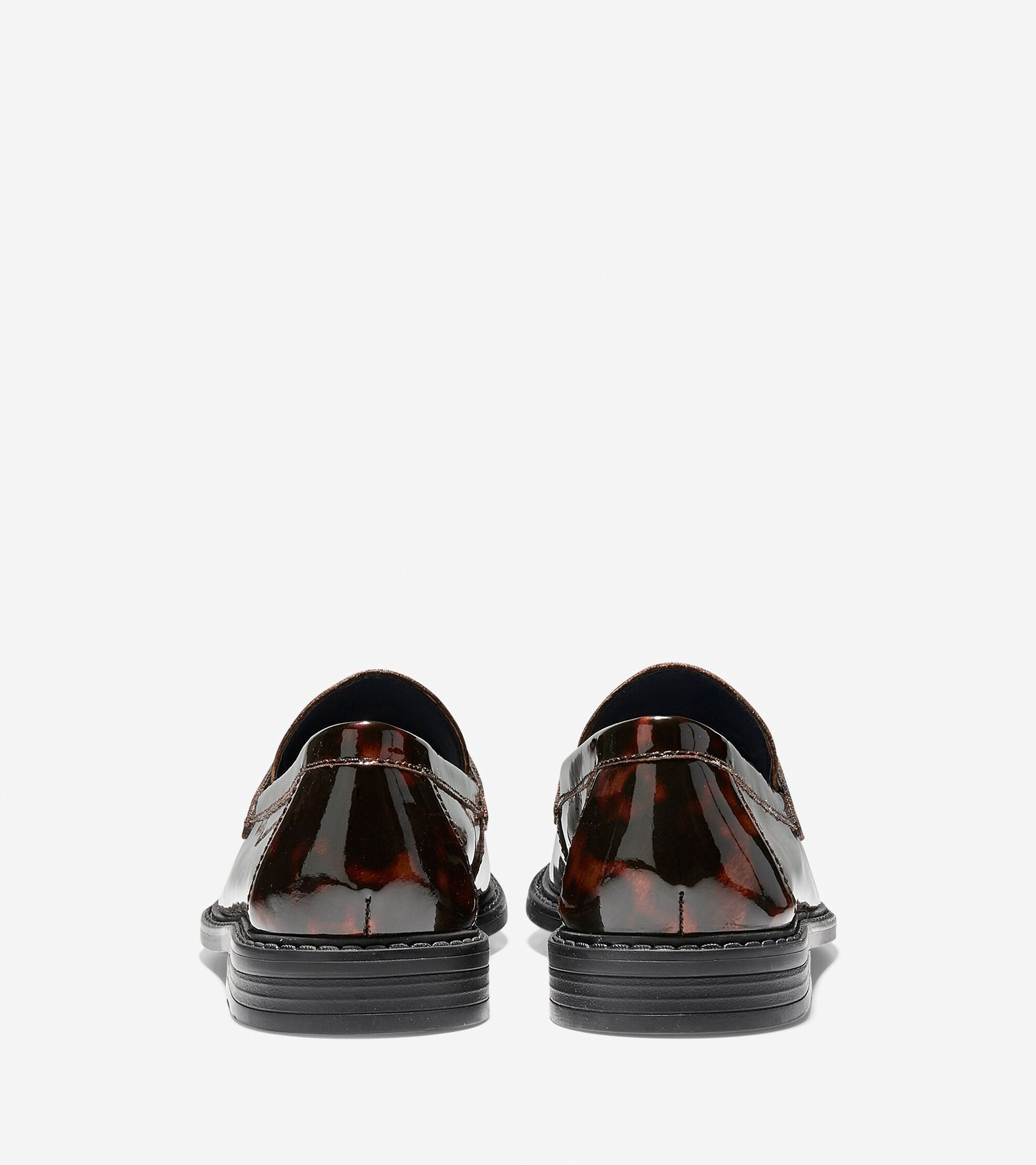 a992898b8076 Pinch Campus Penny Loafers in Tortoise Patent