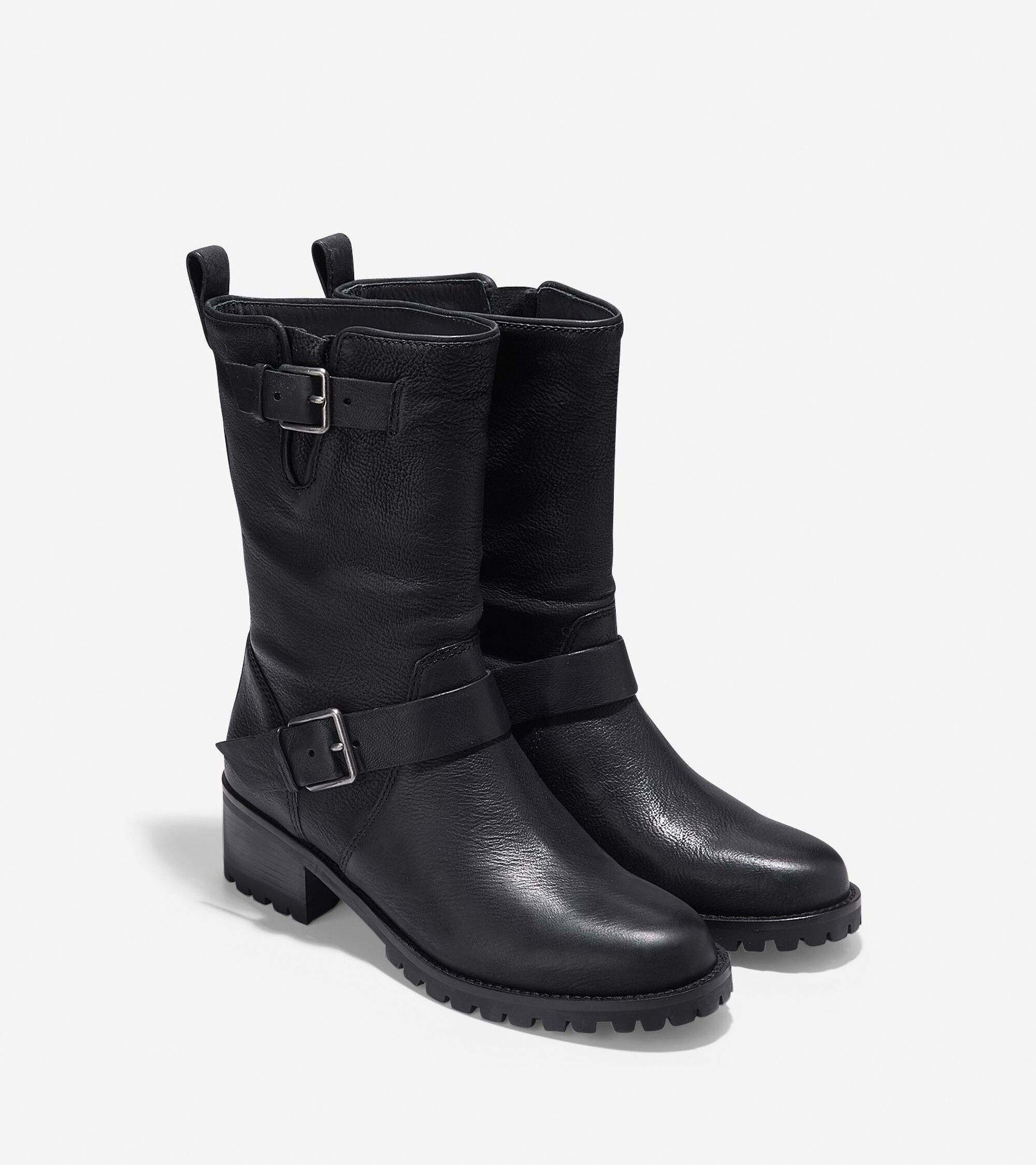 ed1f98c862e8 Women s Hemlock Boots 45mm in Black Leather