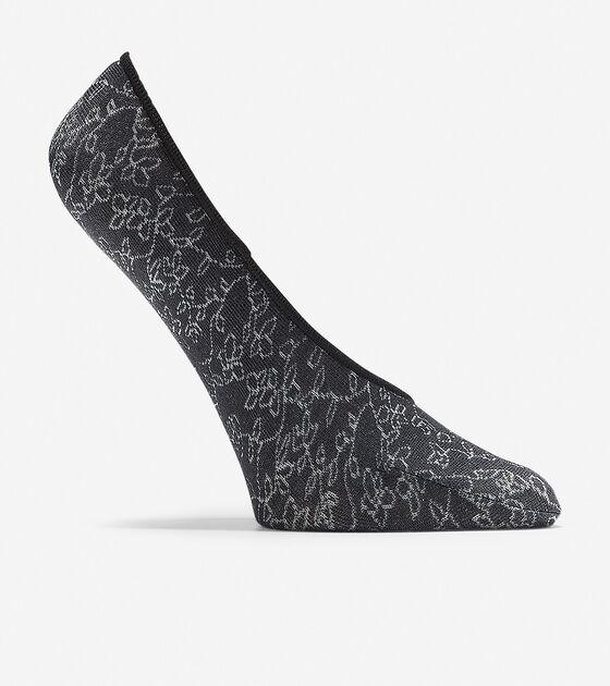 Socks & Tights > Floral Vine No-Show Liner - 2 Pack