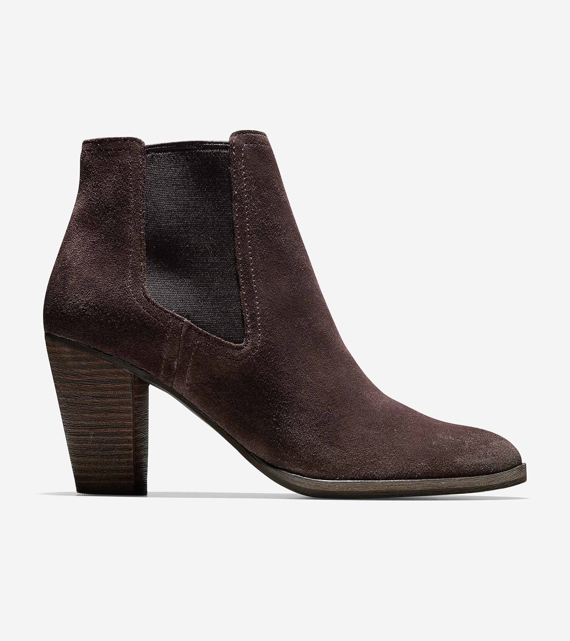 a50cc0b1479 Women s Hayes Gore Booties 75mm in Java Suede