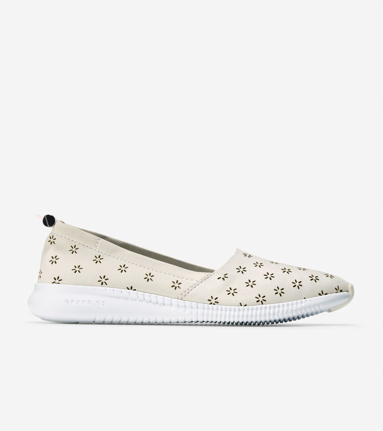 Studi Grand Perforated Slip On Sneaker