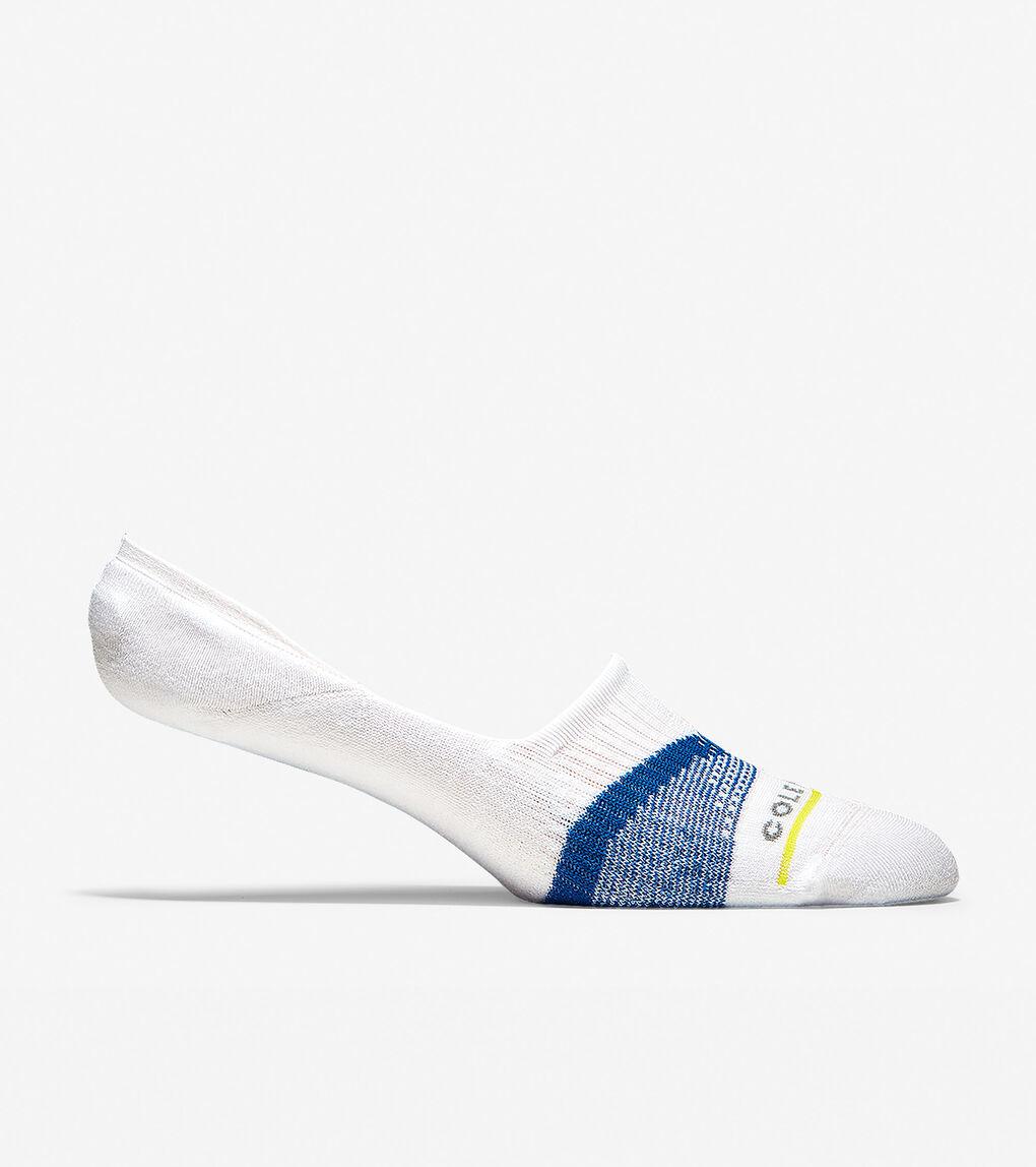 Mens Men's ZERØGRAND V-Stripe No-Show Sock Liners
