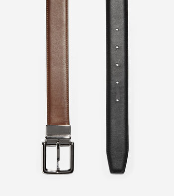 32mm Reversible Dress Leather Belt