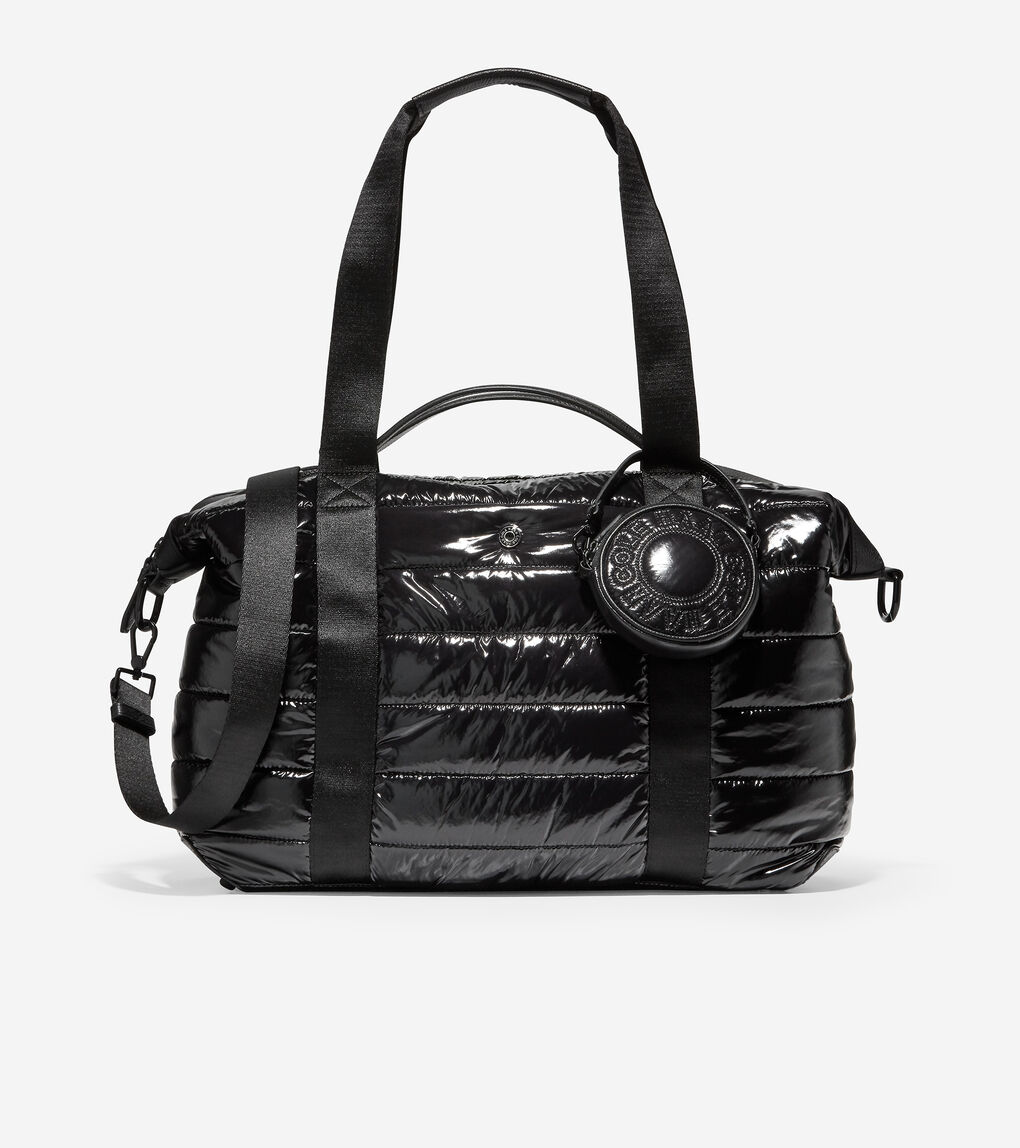 WOMENS Quilted Nylon Duffle