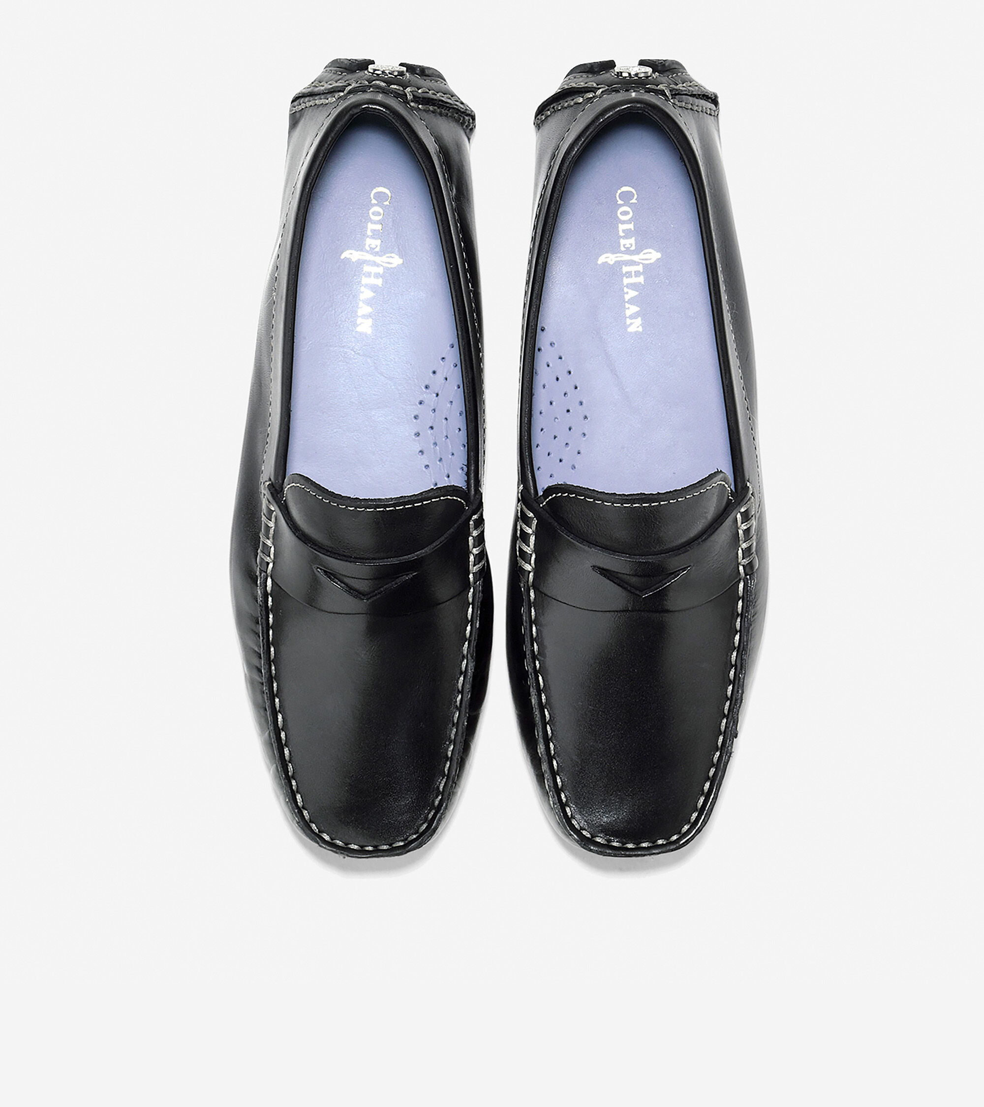 Womens Trillby Drivers In Black Cole Haan D Island Shoes Slip On New Driving Comfort Leather Driver