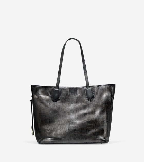 Accessories Outerwear Abbot Perforated Tote