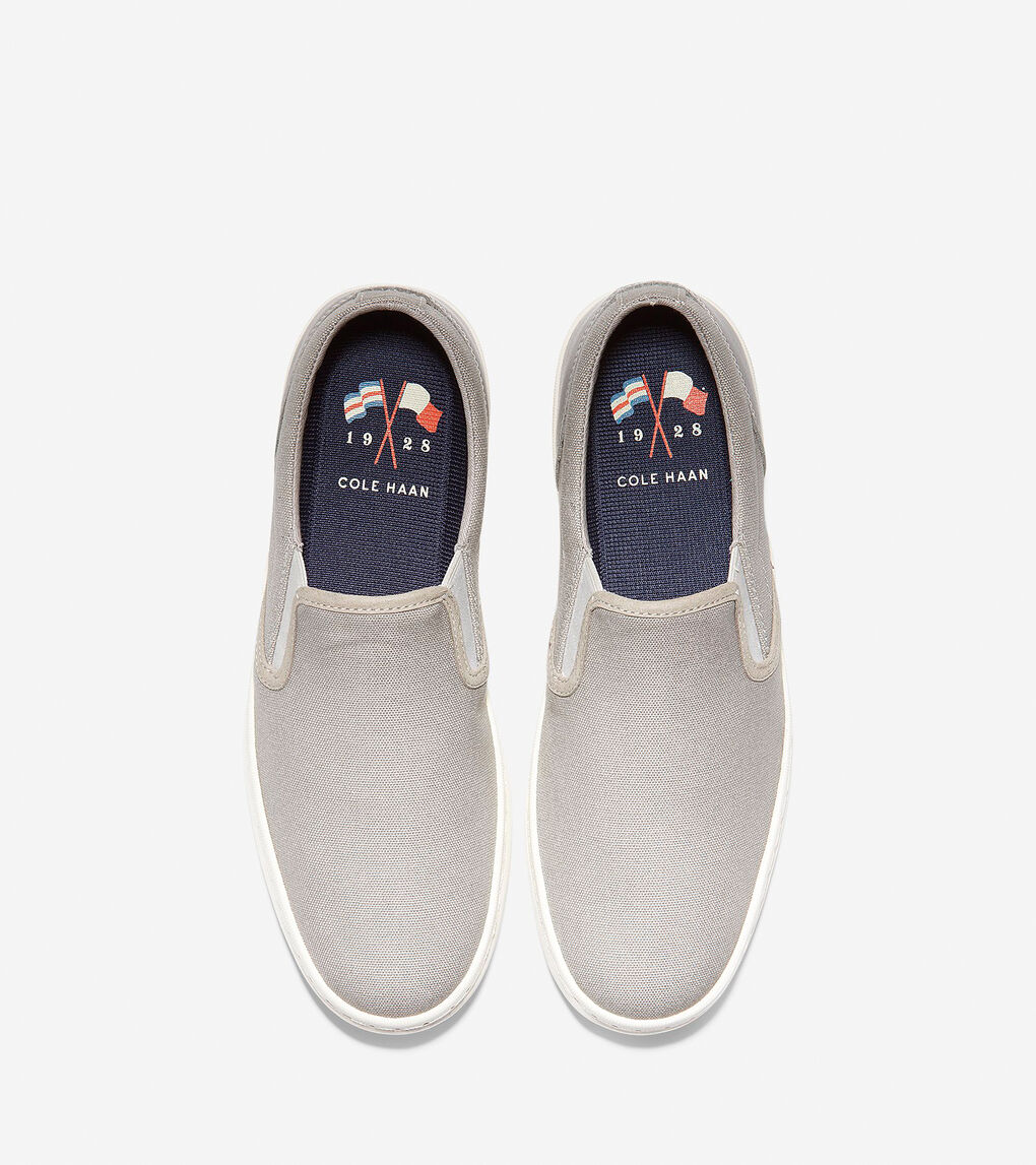 Mens Nantucket Deck Slip-On Sneaker