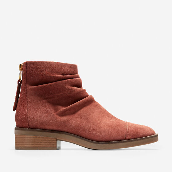 Shoes > Riona Grand Back Zip Bootie (30mm)