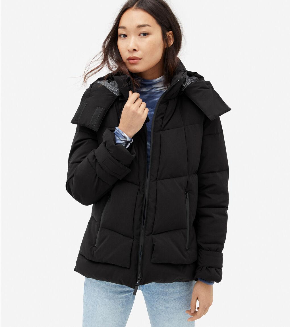 WOMENS ZERØGRAND Short Puffer Jacket