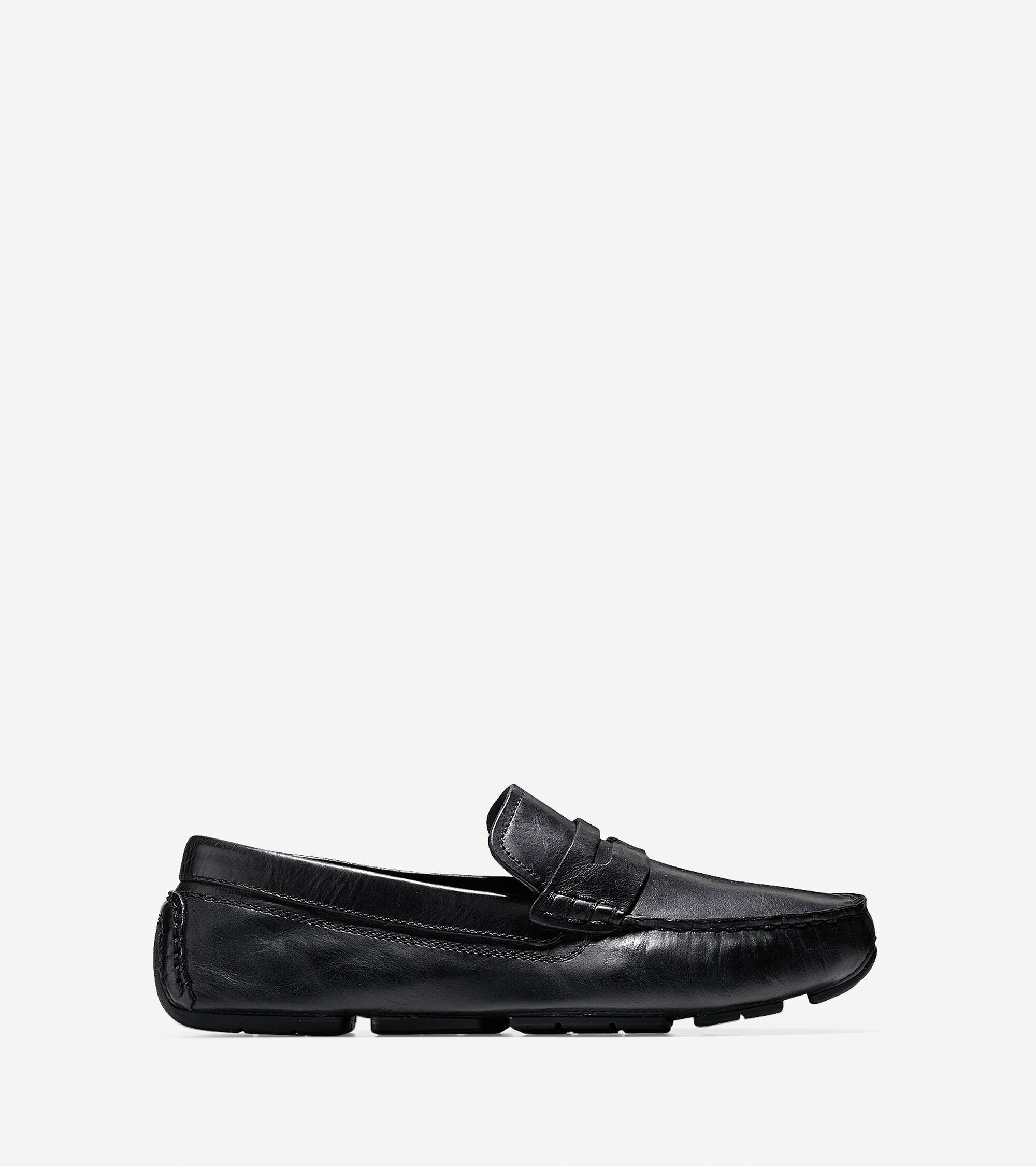 6681878403a Kelson Penny Loafers in Black   Mens Shoes