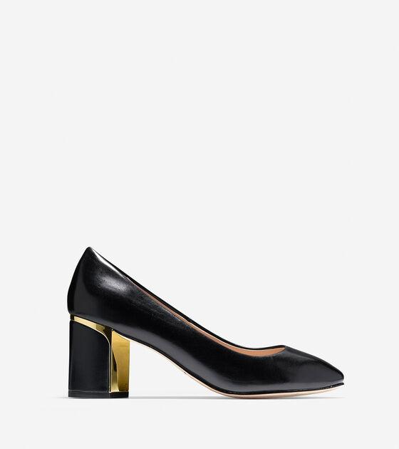 616c78ee83 Women's Collection Block Heel Pumps 65mm in Black | Cole Haan