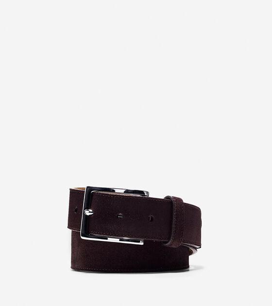 Accessories & Outerwear > 32mm Suede Belt