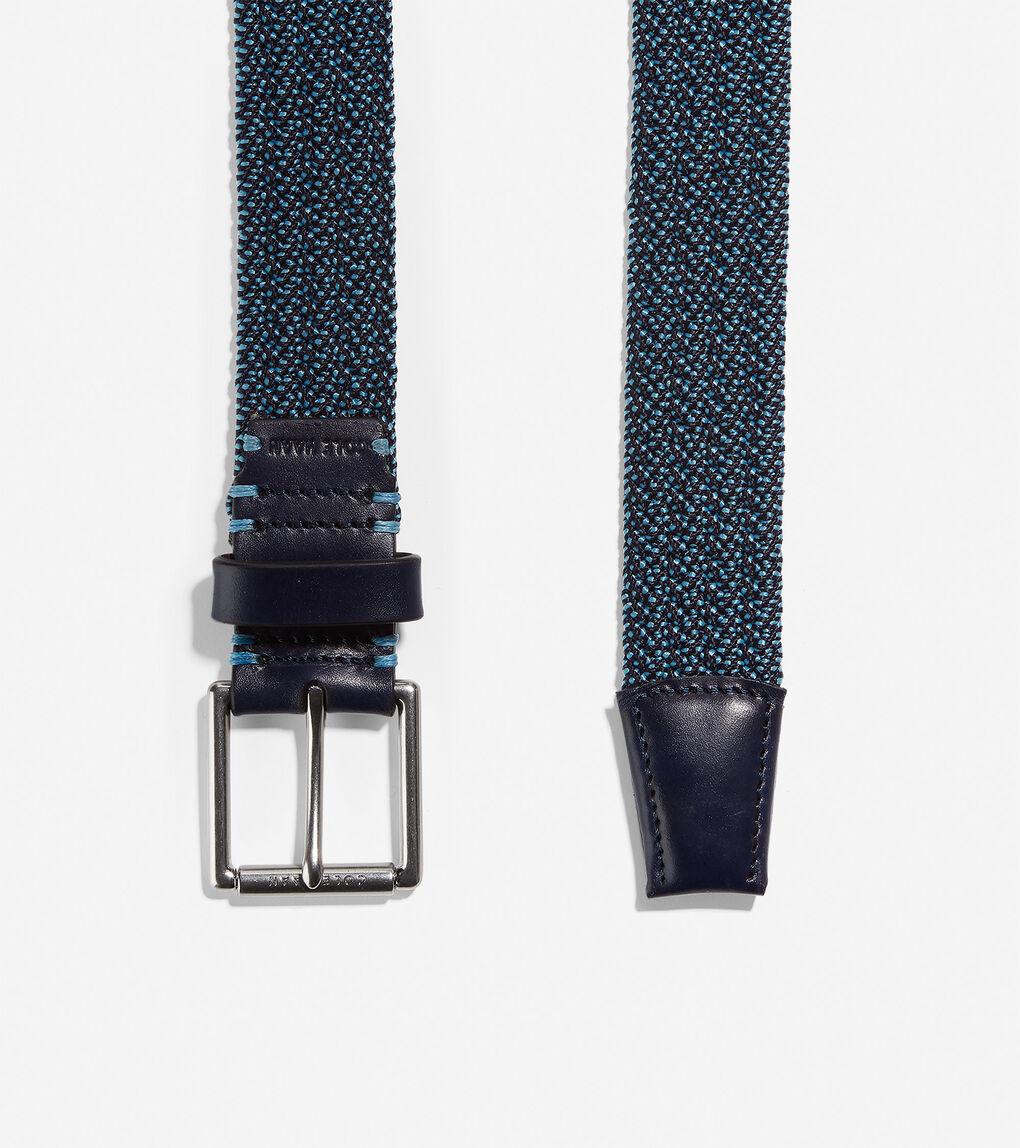 Mens Stretch Weave 32mm Belt