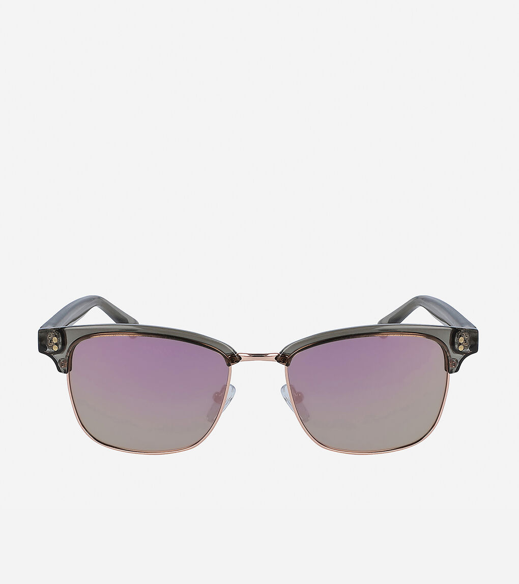 Womens Acetate Square Sunglasses