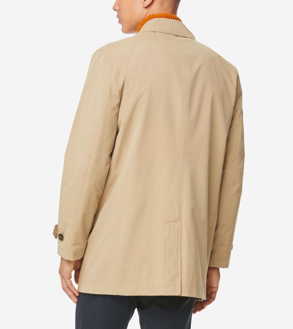 MENS Stand Collar Rain Jacket