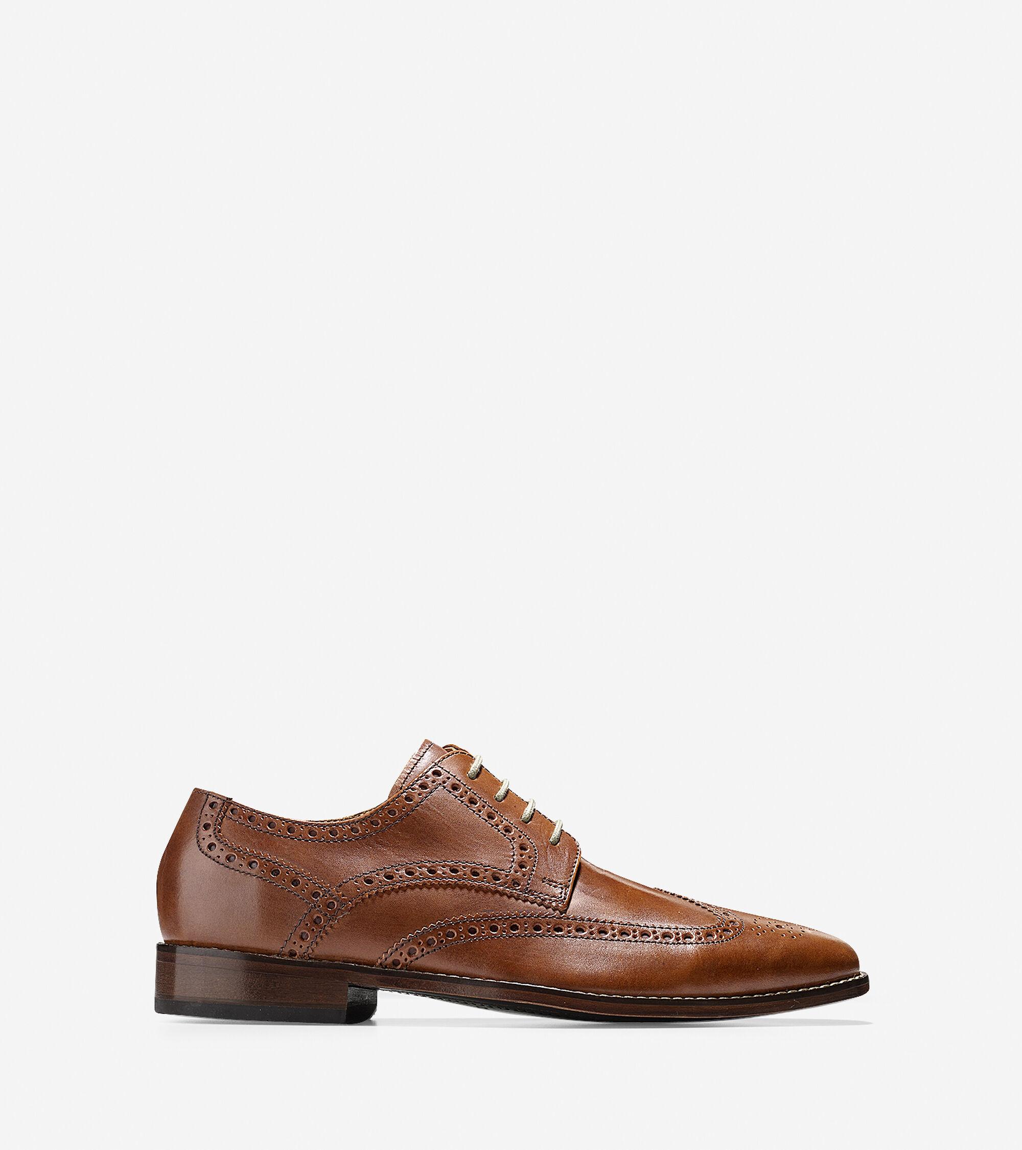 da83e40152c Men s Giraldo Wing Oxfords in British Tan   Sale