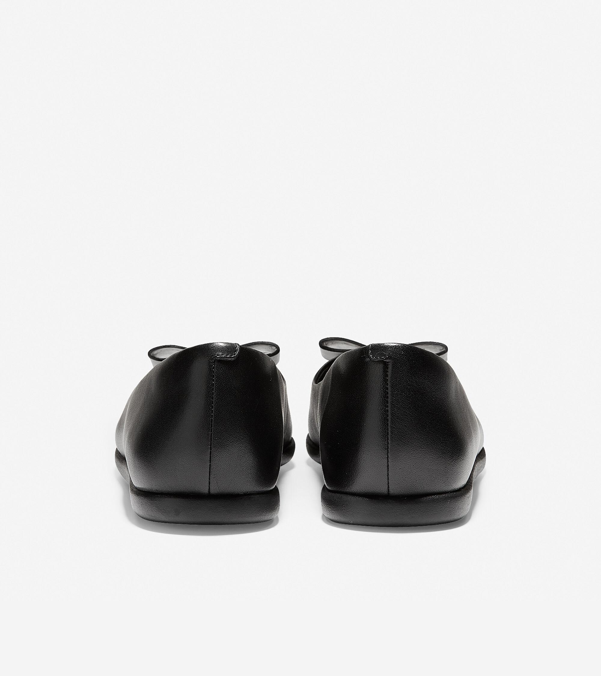 a894439ef4d Women s 3.ZEROGRAND Bow Skimmer Flats in Black