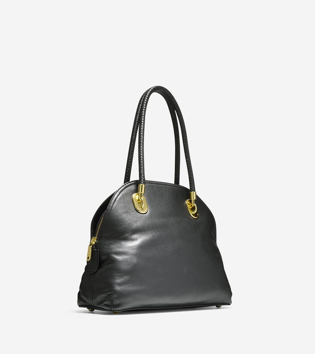 Womens Benson Dome Satchel