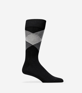 Large Diamond Crew Socks