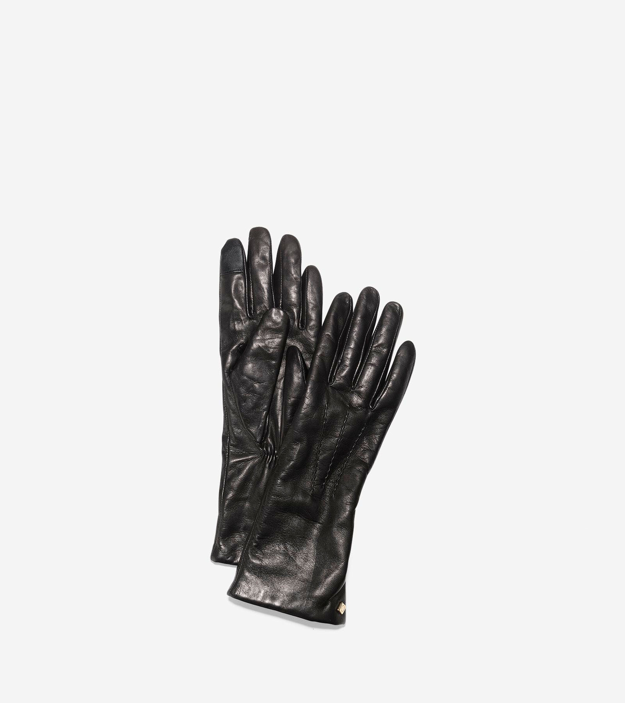 Cole Haan Womens Long Gloves With Points