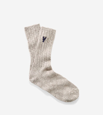 Pinch Cotton Rag Crew Socks