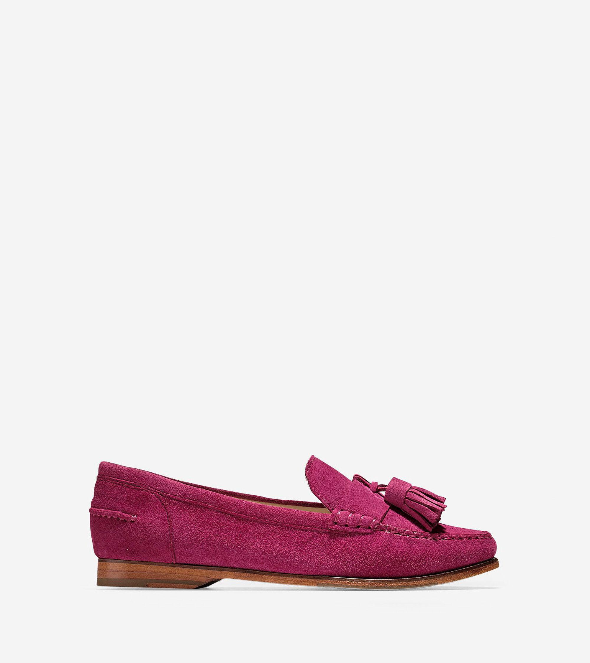 e4807dec764 Pinch Grand Tassel Loafers in Cabernet Suede