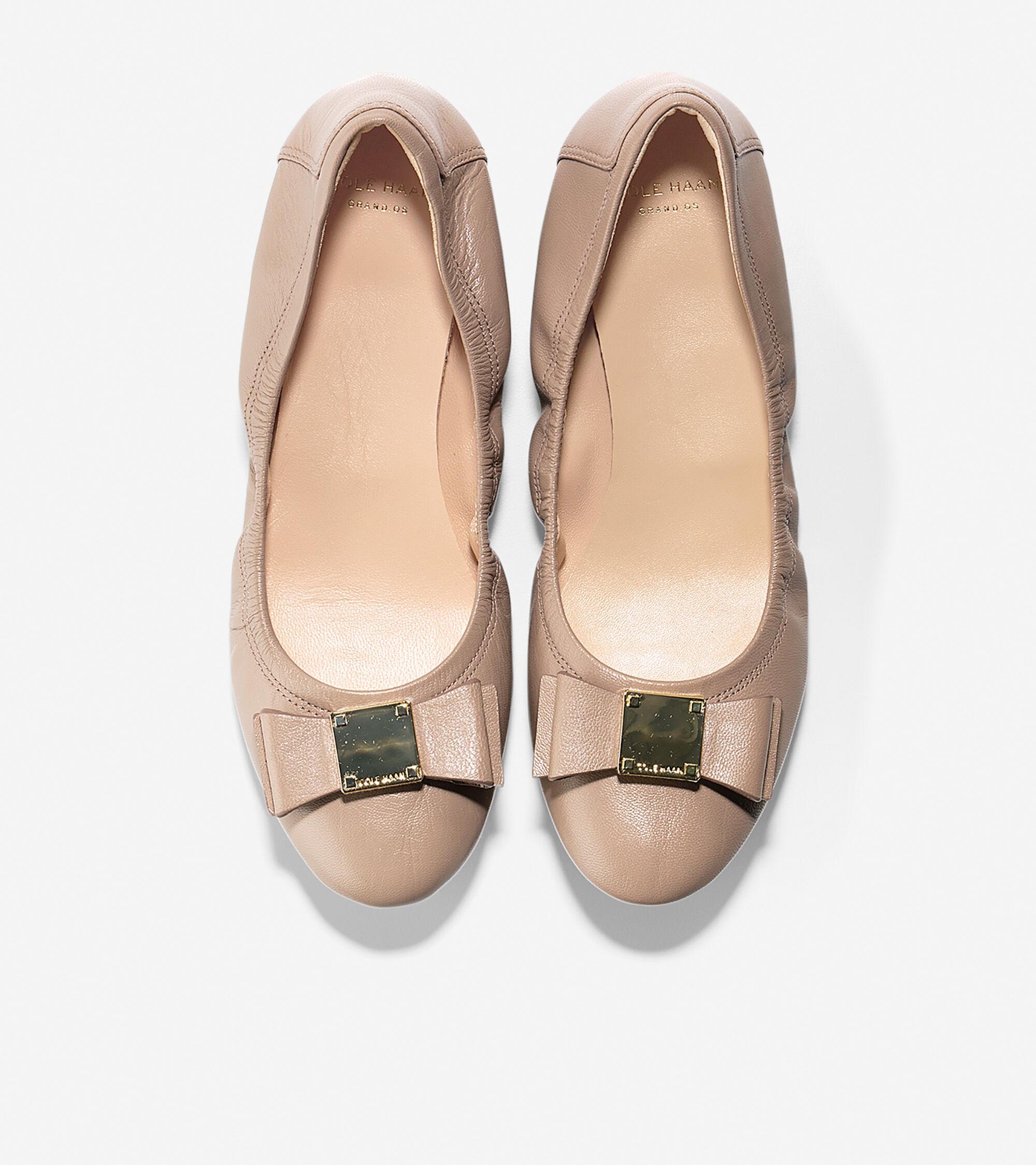 03c069a7edca Women s Tali Bow Ballet Flats in Maple Sugar