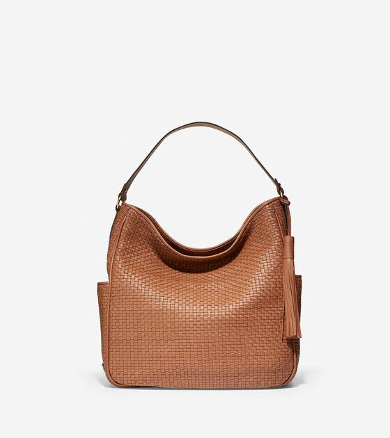 Handbags > Gabriella Weave Hobo