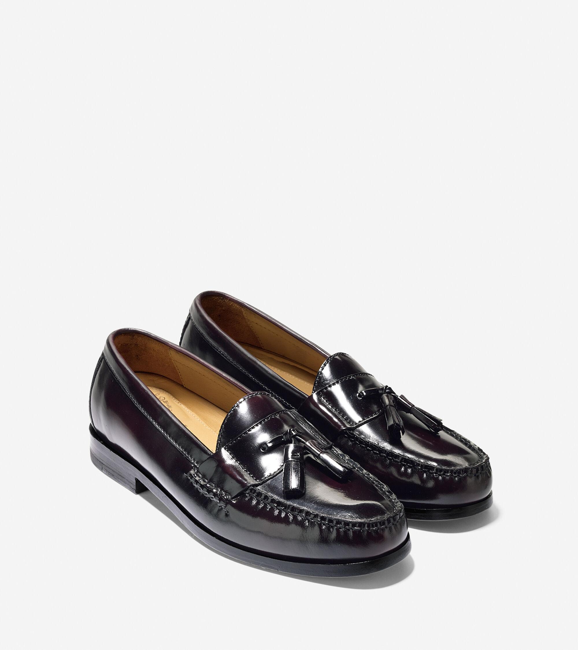 65608783f6e Pinch Grand Tassel In Burgundy   Mens Shoes