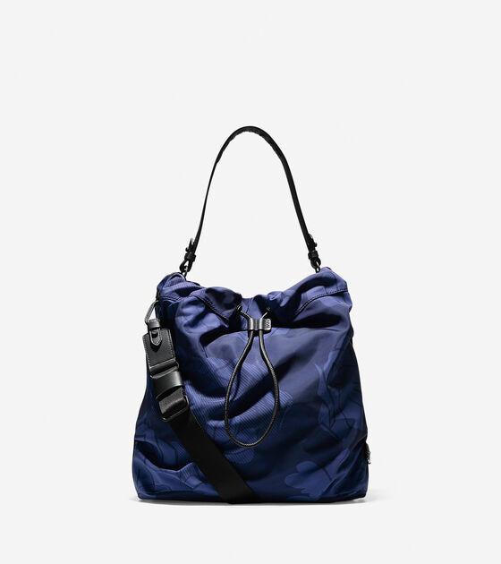Women s Stagedoor Small Studio Bag in Blue Print   Cole Haan 1e5e8539d1