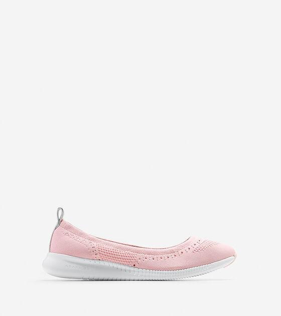 Shoes > Women's 2.ZERØGRAND Ballet Flat with Stitchlite™