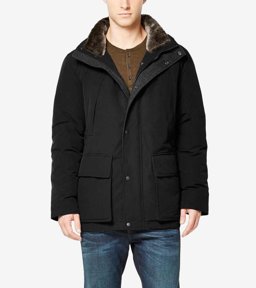 Mens Utility Down Short Coat