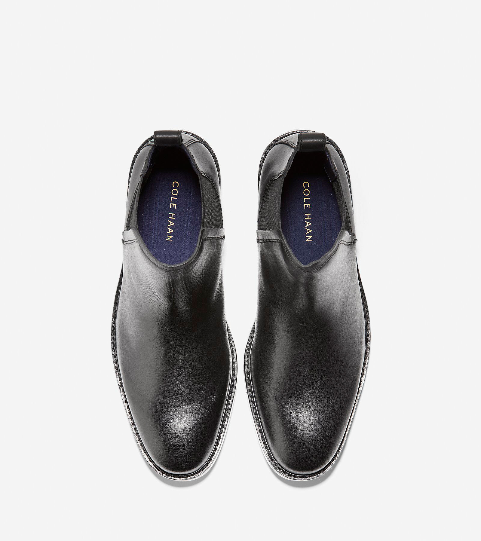 Kennedy Grand Chelsea Boot in Black