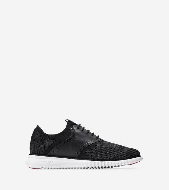 Shoes > Men's 2.ZERØGRAND Packable Saddle Knit Oxford