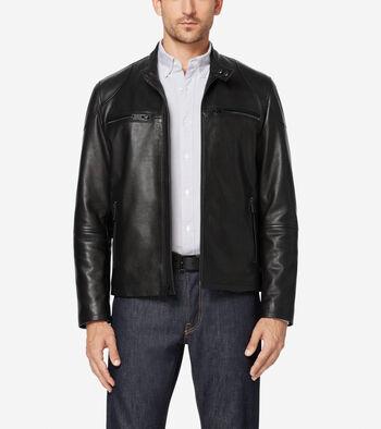 Front Zip Moto Jacket