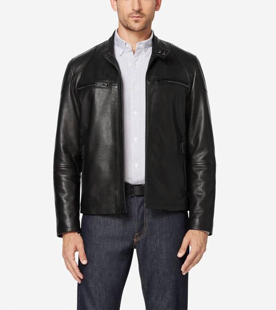 Outerwear > Front Zip Moto Jacket