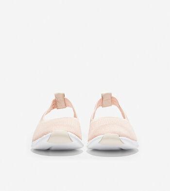 Women's 2.ZERØGRAND Sling  Ballet Flat with Stitchlite™