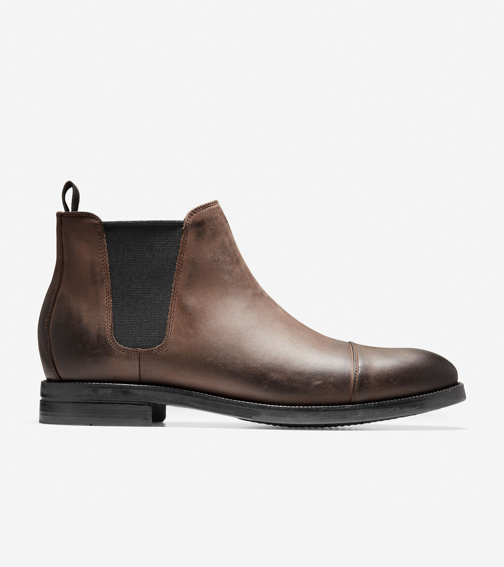 c198a7e5ac6 Men's Wagner Grand Chelsea Boot in Java Nubuck | Cole Haan US