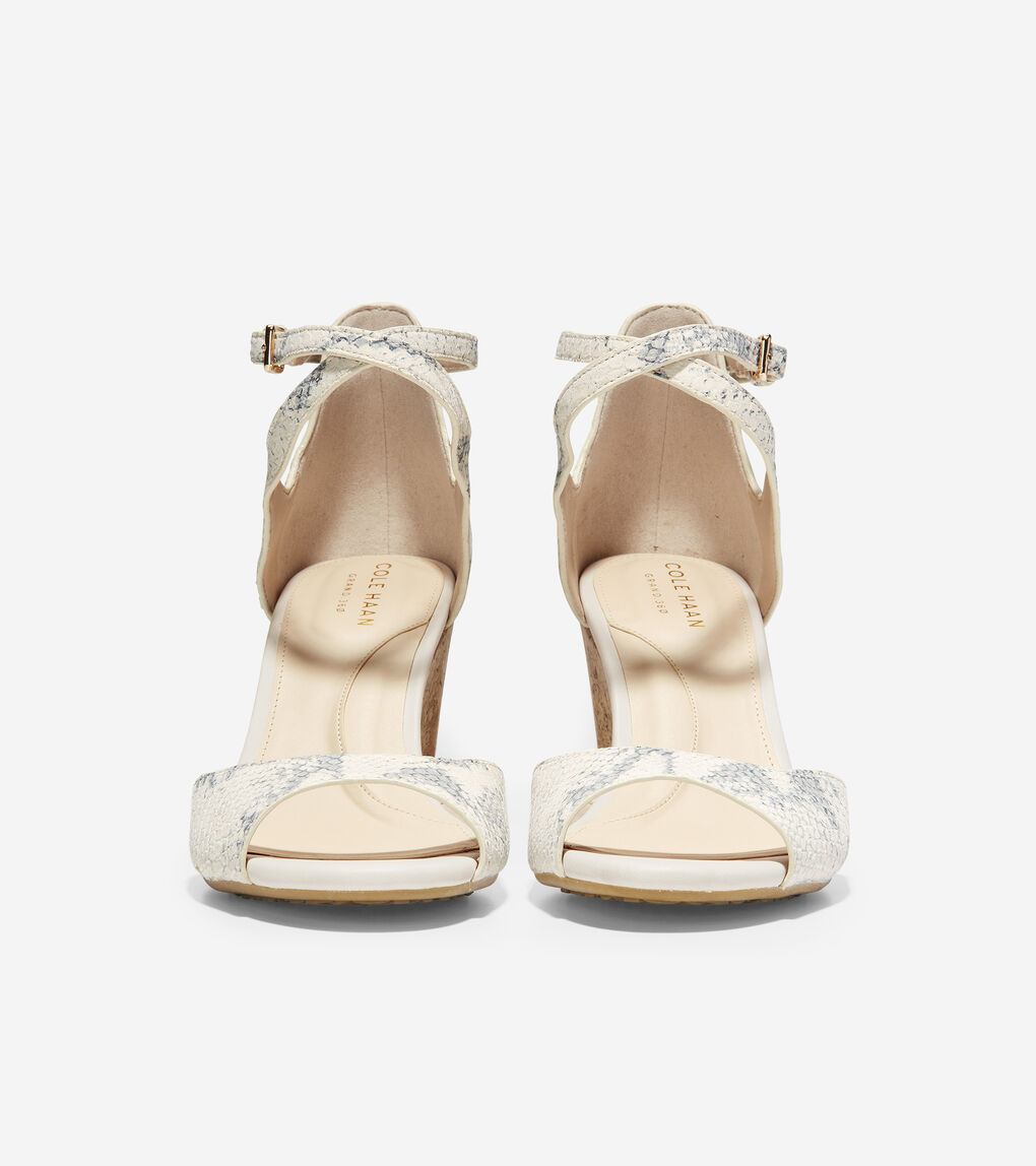 Womens Sadie Open Toe Wedge Sandal