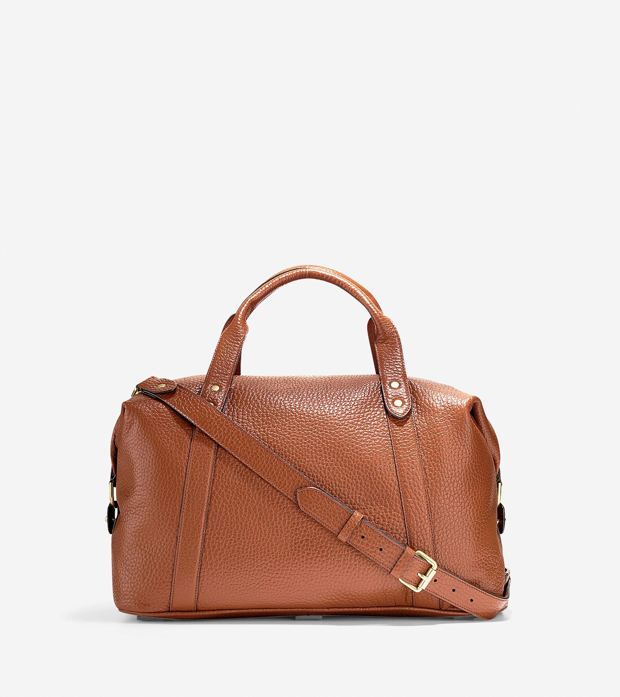 733cef90ba Men s Saunders Duffle Bag in Brandy Brown