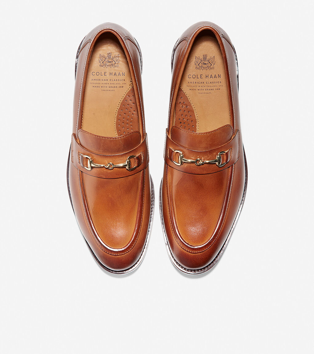 Mens Cole Haan American Classic Kneeland Bit Loafer