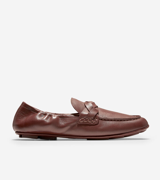 Loafers & Driving Shoes > Odette Driverina Braided Flat