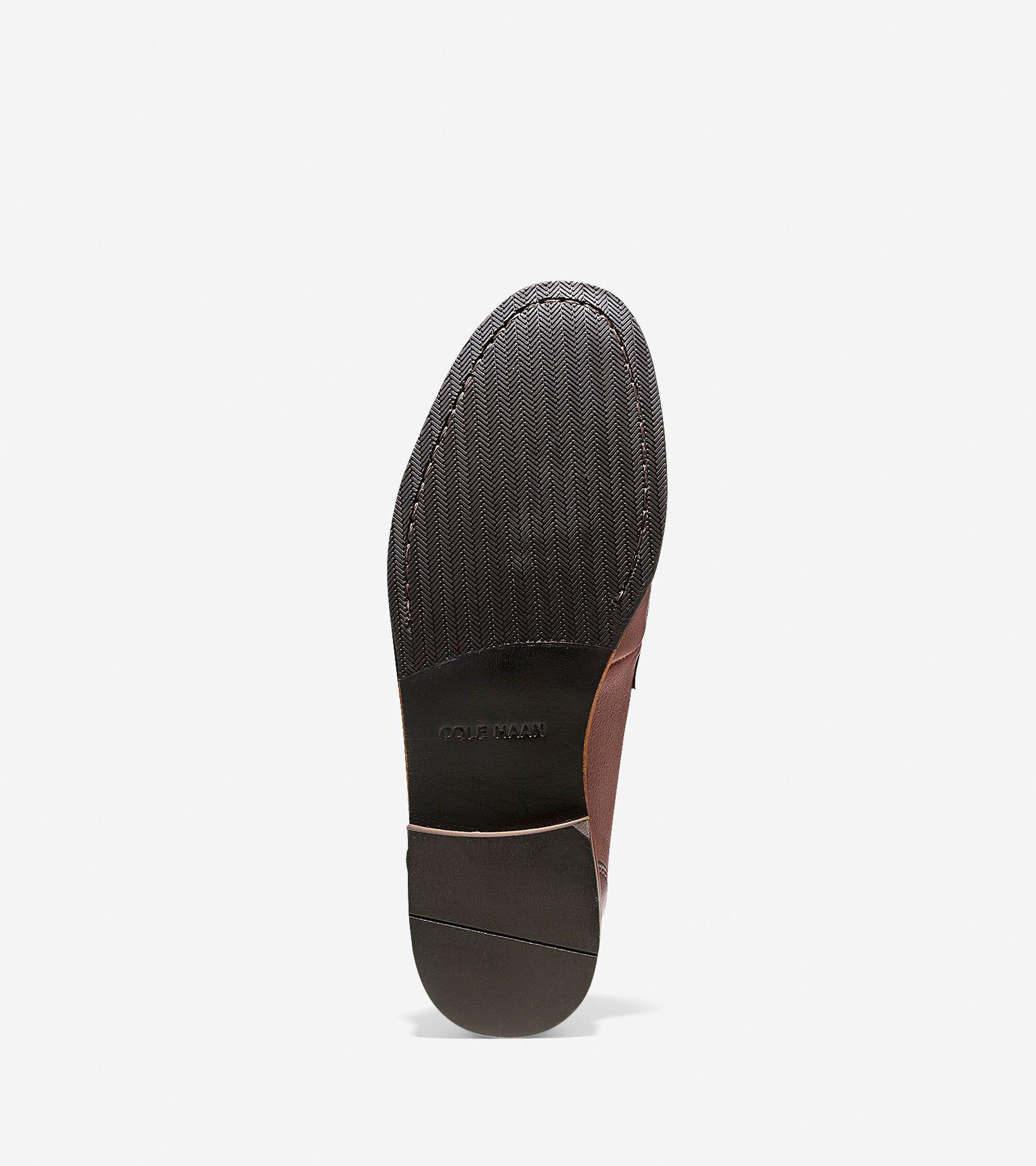 2d6ef4b0d8a Men s Fairmont Penny Loafers in Papaya Grain   Sale