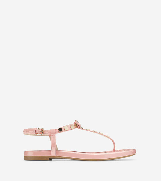 Shoes > Tali Mini Bow Studded Sandal