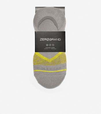 Men's ZERØGRAND V-Stripe No-Show Sock Liners