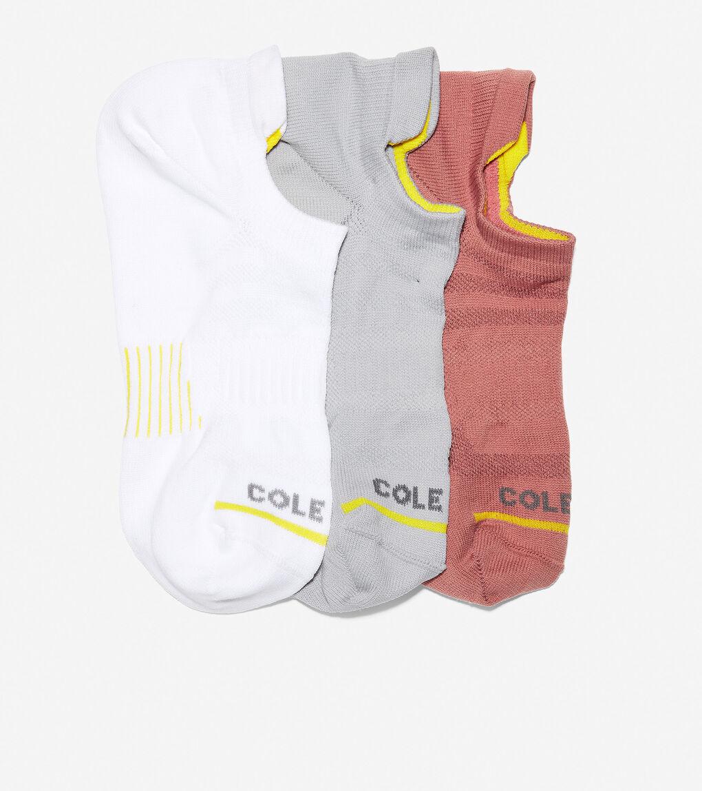Womens ZERØGRAND 3-Pair Liner Socks