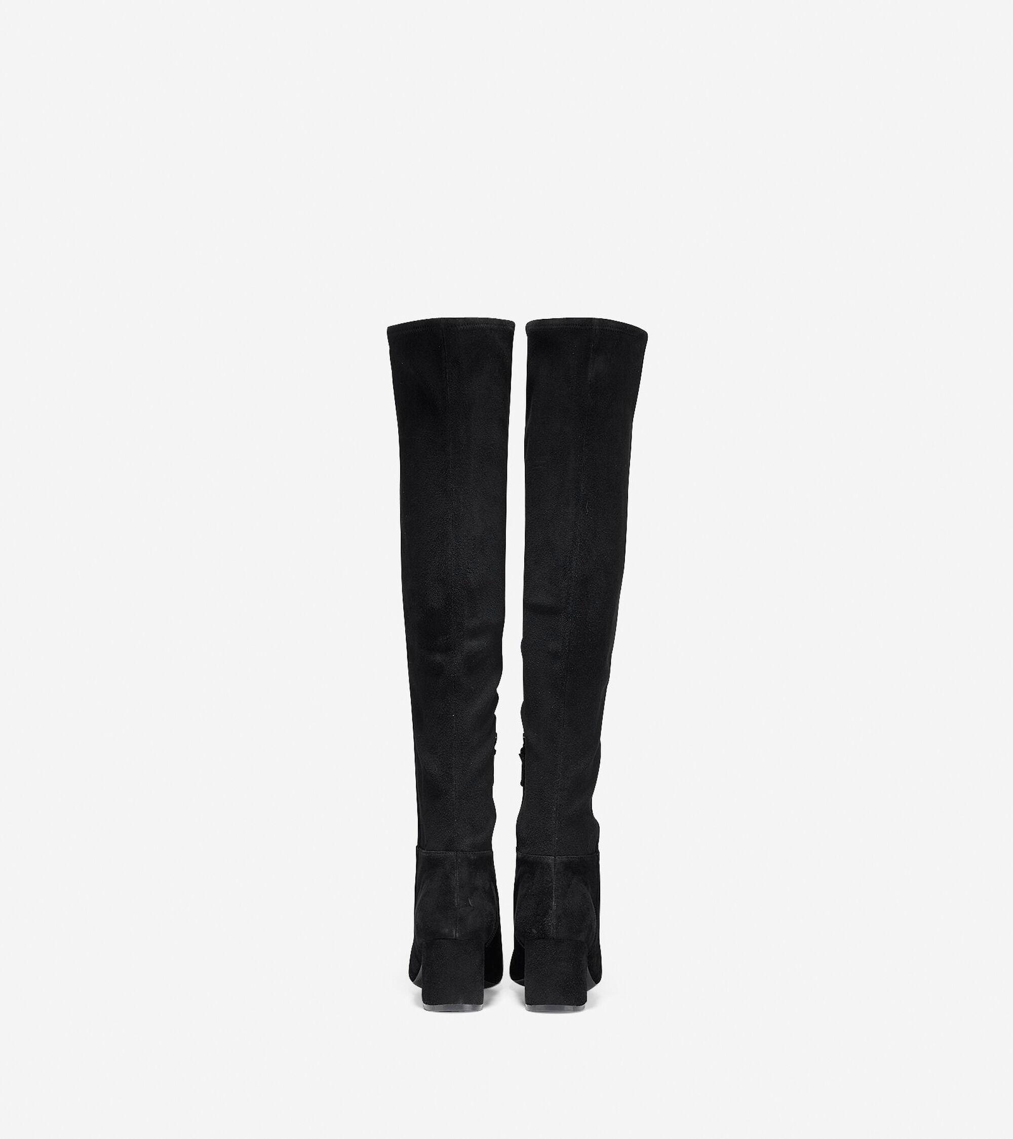 03fdaafd2a1 Women s Elnora Over The Knee Boots 60mm in Black