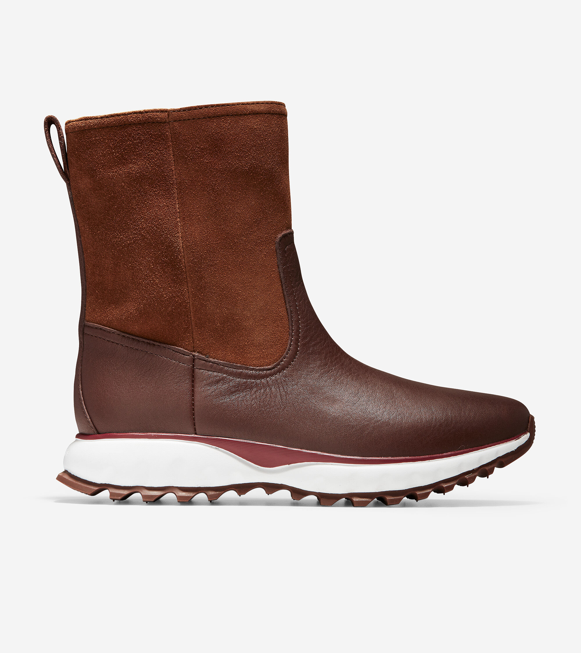 XC Pull-On Boot in Harvest Brown Suede