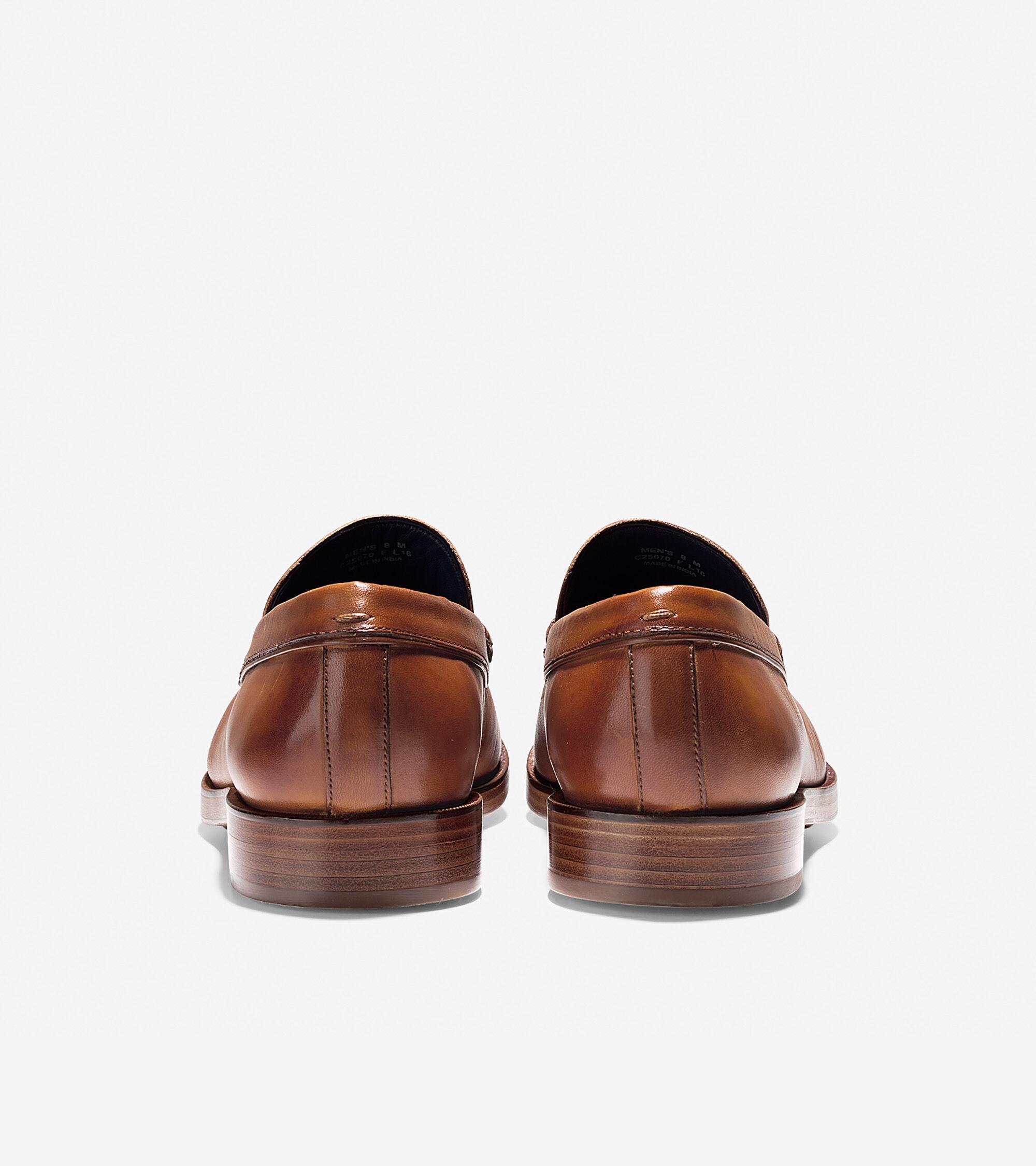 abe189fe143 Men s Hamilton Grand Penny Loafers in British Tan