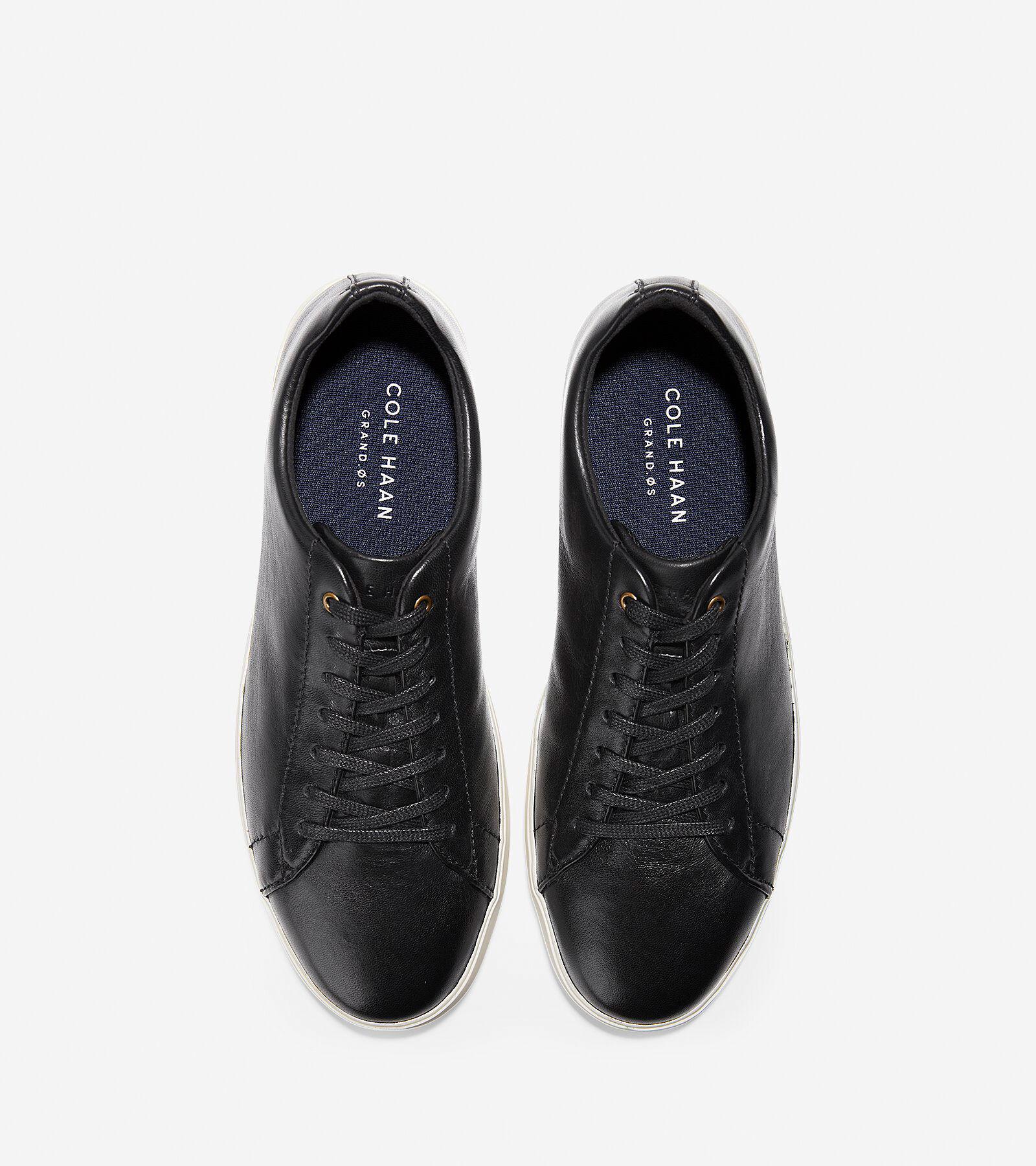 Men's Grand Crosscourt Sneaker in Black